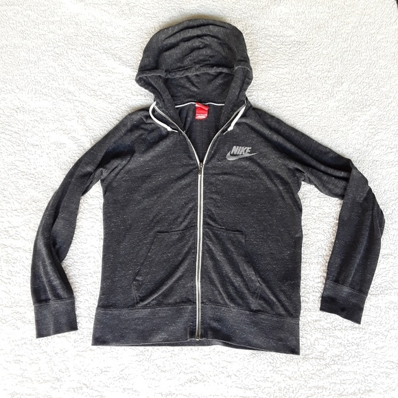 Nike Jackets & Blazers - Nike | Heathered Gray lightweight athletic jacket
